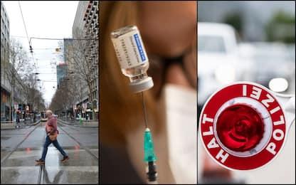 Covid Austria, se dati peggiorano piano con lockdown per non vaccinati