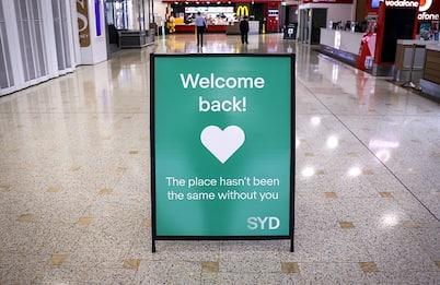 Covid, Australia riapre le frontiere dopo 18 mesi