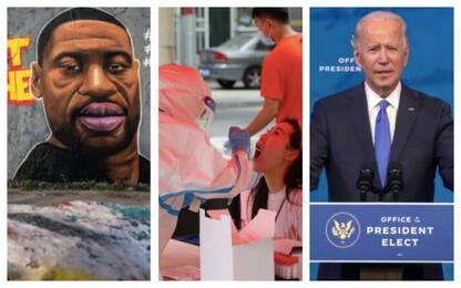 Dal Covid alla vittoria di Biden: le foto più significative del 2020