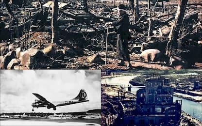 I 75 anni dal lancio della prima bomba atomica su Hiroshima. FOTO
