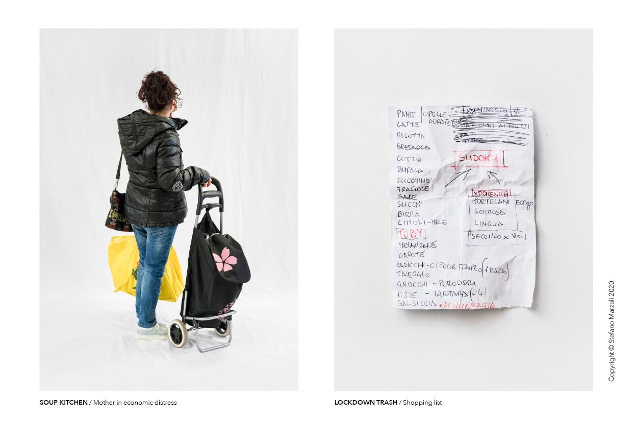Catalogo del lockdown, foto di Stefano Marzoli