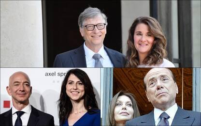 Da Bill e Melinda Gates a Bezos e MacKenzie: i divorzi più cari