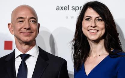Bezos, l'ex moglie MacKenzie dona 2,7 miliardi in beneficenza