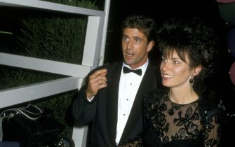 Mel Gibson and Wife Robyn Moore (Photo by Ron Galella/Ron Galella Collection via Getty Images)