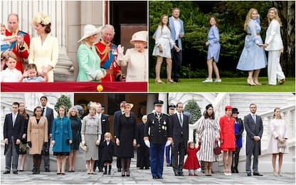 Non solo Windsor, ecco le altre casate che regnano in Europa. LE FOTO