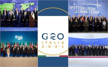 G20, dalle origini ad oggi: tutti i vertici dei leader mondiali. FOTO