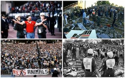 Tragedia dell'Heysel, 35 anni fa la strage a Bruxelles. FOTO