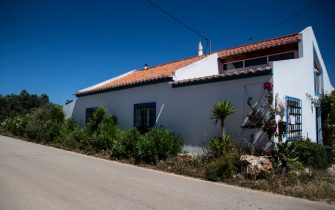 Picture shows the house where a German suspect, related to the Briton Madeleine McCann case, was living when the three-year-old girl disappeared in 2007, near Lagos, Portugal, on June 5, 2020. - Portuguese justice said to be questioning witnesses as part of the investigation into the 2007 disappearance of the British girl Madeleine McCann, whose case re-emerged on May 3, 202 with the identification of a new German suspect. (Photo by CARLOS COSTA / AFP) (Photo by CARLOS COSTA/AFP via Getty Images)