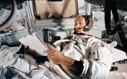 """Addio a Michael Collins, """"l'uomo più solo"""" dell'Apollo 11. FOTOSTORIA"""