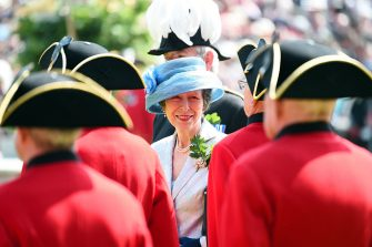 LONDON, ENGLAND - JUNE 09:  Princess Anne, Princess Royal  attends the Founders Day Parade at The Royal Hospital Chelsea on June 9, 2016 in London, England.  (Photo by Eamonn M. McCormack/Getty Images)
