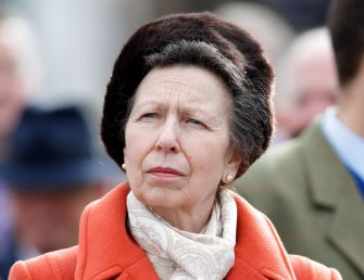 CHELTENHAM, UNITED KINGDOM - MARCH 10: (EMBARGOED FOR PUBLICATION IN UK NEWSPAPERS UNTIL 24 HOURS AFTER CREATE DATE AND TIME) Princess Anne, Princess Royal attends day 1 'Champion Day' of the Cheltenham Festival 2020 at Cheltenham Racecourse on March 10, 2020 in Cheltenham, England. (Photo by Max Mumby/Indigo/Getty Images)