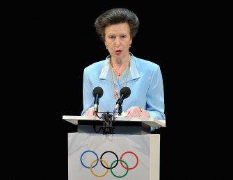 LONDON, ENGLAND - JULY 23:  Princess Anne, the British Olympic Association President speaks on stage during the Opening Ceremony of the 124th IOC Session, prior to the start of the London 2012 Olympic Games at The Royal Opera House on July 23, 2012 in London, England.  (Photo by Pascal Le Segretain/Getty Images)
