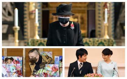 Mascherine, cambi di look e scandali: il 2020 delle famiglie reali