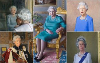 Ritratti Regina Elisabetta