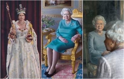 Regina Elisabetta II: tutti i suoi ritratti. FOTO