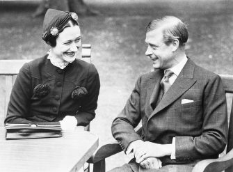 """Wallis Simpson and the Duke of Windsor are reunited at the Chateau De Cande where the Duke is demanding that after their wedding, Wallis Simpson is to be addressed as """"Her Royal Highness"""" which would give her the same rank as the wives of the Duke's younger brothers. 