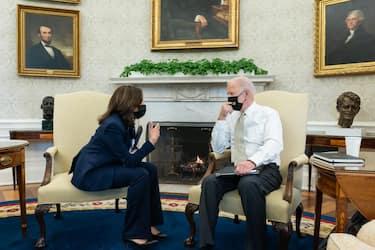 Harris Biden together