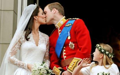 William e Kate, 10 anni fa il royal wedding da favola. FOTO