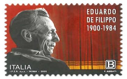 Napoli, poste italiane: francobollo dedicato a Eduardo De Filippo