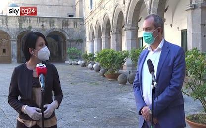 """Coronavirus Napoli, De Magistris: """"Ridare centralità ai Comuni"""". VIDEO"""