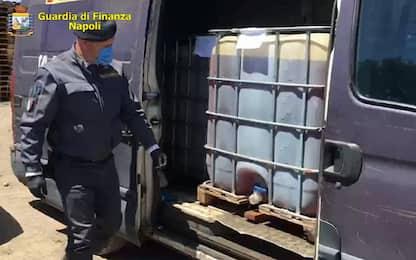 Gasolio di contrabbando, sequestrati distributori nel Napoletano