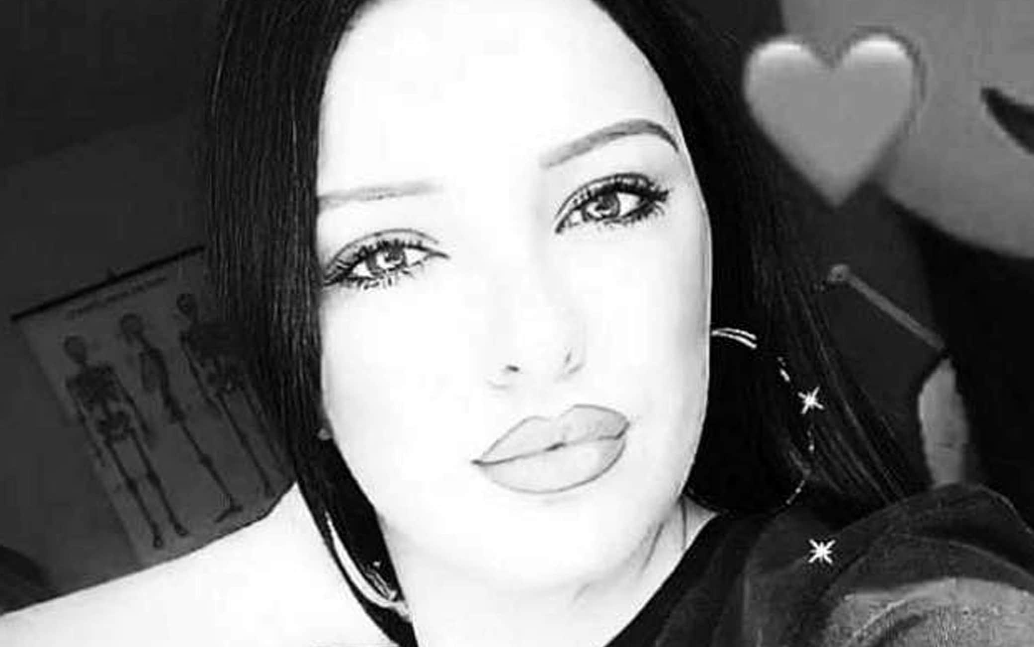 Paola Maria Gaglione nella foto del suo profilo Facebook