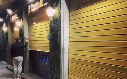 Covid Napoli, chiude il ristorante Il Ciottolo