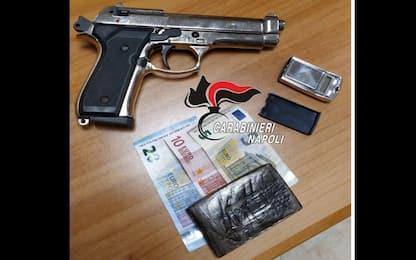 Droga a Ercolano, arrestato 21enne con 100 grammi di hashish
