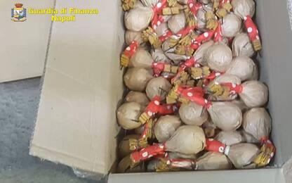 Sequestrata una tonnellata di botti illegali nel Napoletano: 2 arresti