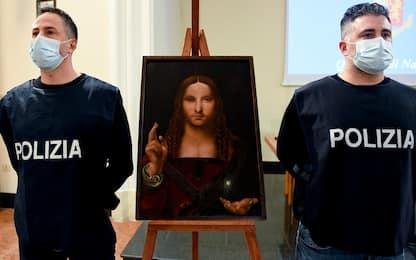 Napoli, ritrovato il quadro Salvator Mundi