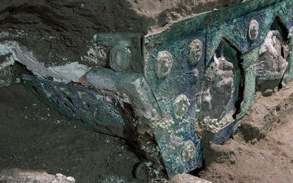 Pompei, ritrovato uno straordinario carro da parata