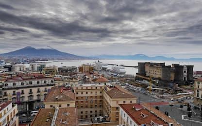 Maltempo Campania, allerta gialla dalle 12 di domani