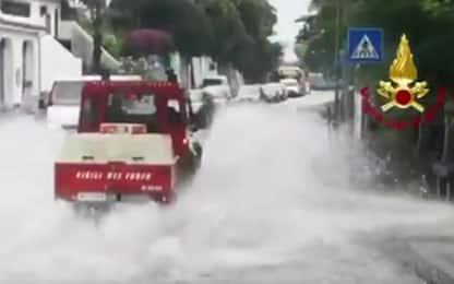 Maltempo a Messina, frana sulla strada panoramica dello Stretto