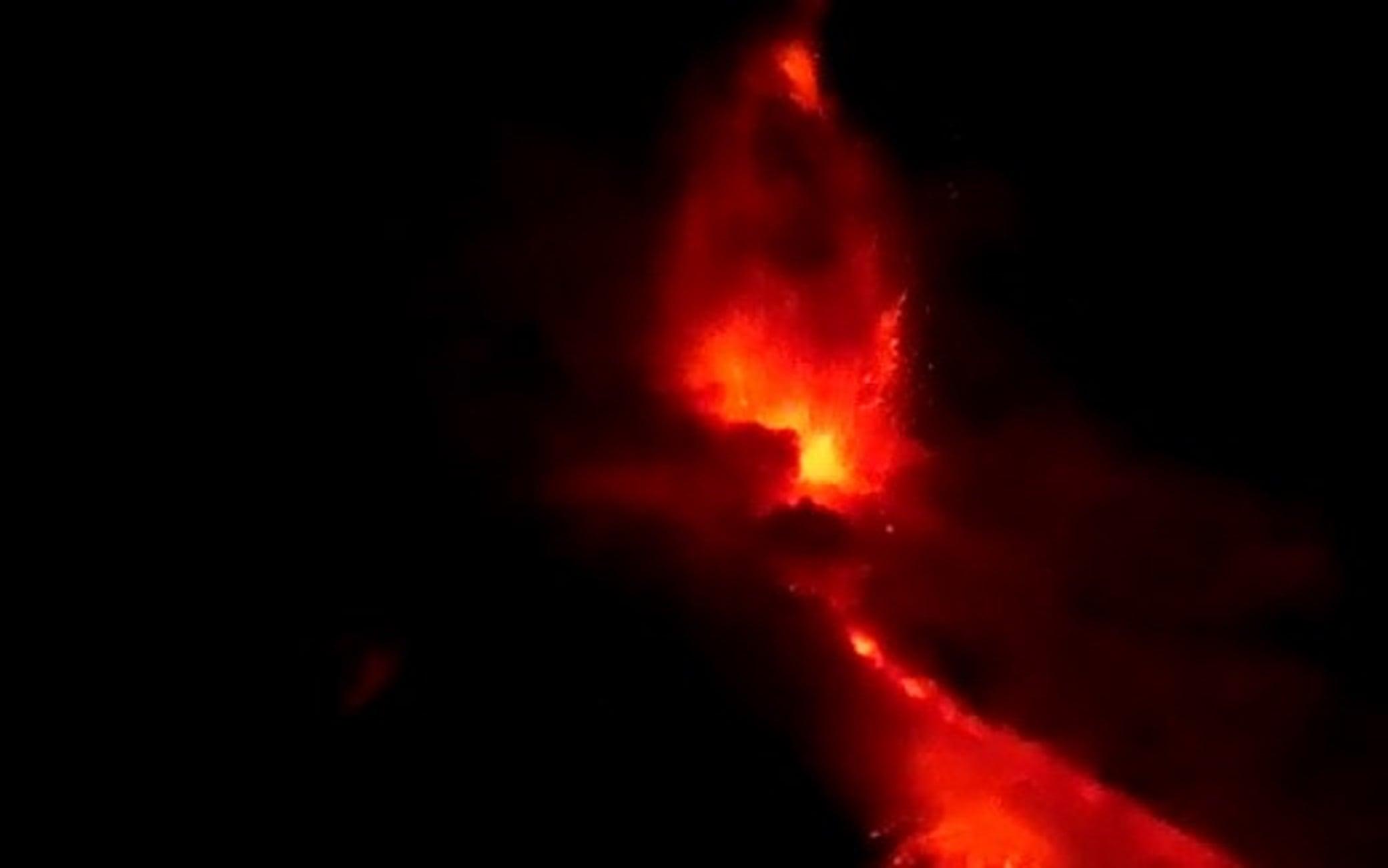 La nuova fase parossistica sull'Etna