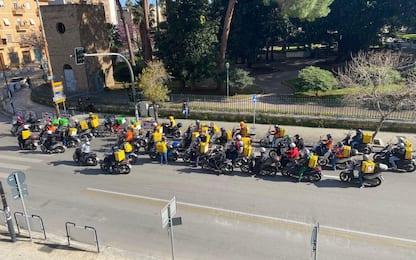 Sciopero dei rider, a Palermo corteo e flashmob contro lo sfruttamento