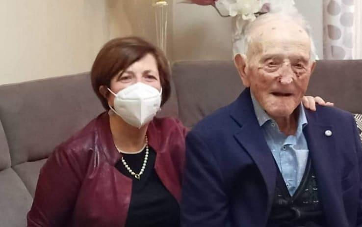 La figlia Biagia con il padre Antonio Turturici