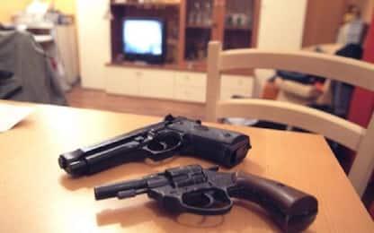 Armi e munizioni in casa: arrestato 48enne a Misilmeri