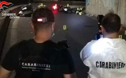 Mafia, 2 morti e feriti in sparatoria tra clan: 14 ordinanze a Catania