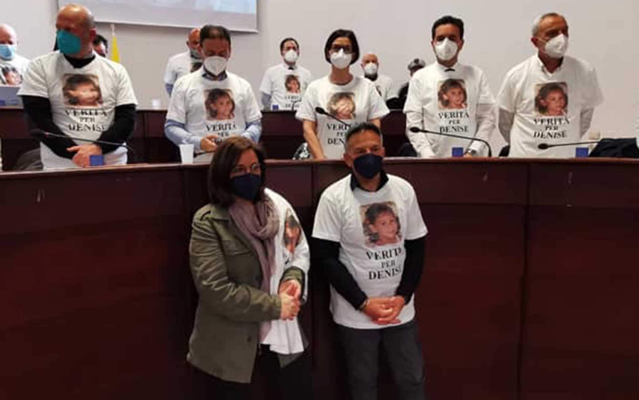 I genitori di Denise Pipitone in consiglio comunale