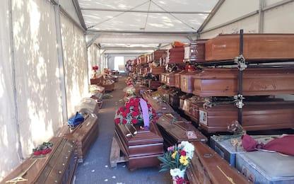 Emergenza sepolture, a Palermo oltre 850 bare nei depositi