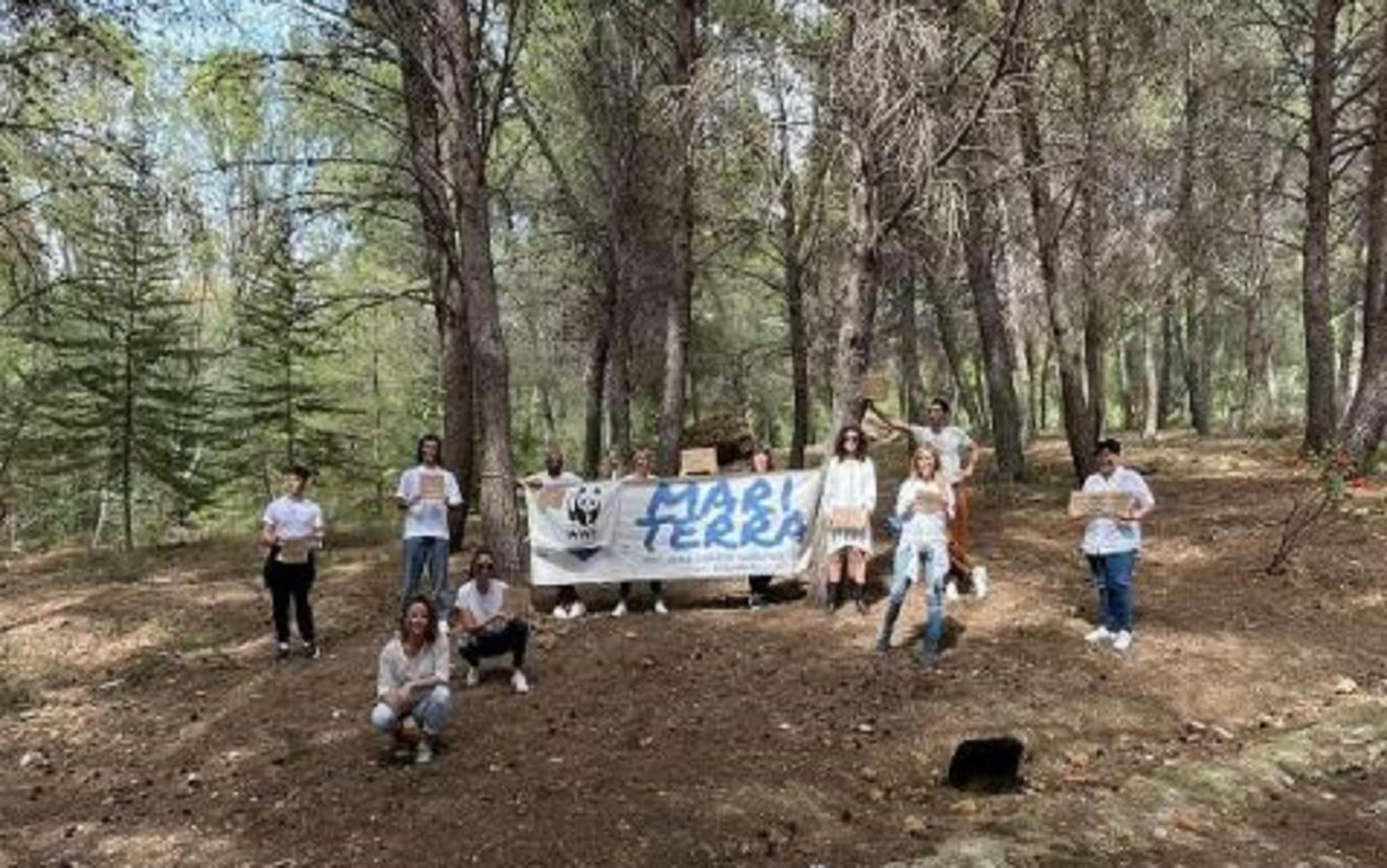 Una delle iniziative in Sicilia contro gli incendi boschivi
