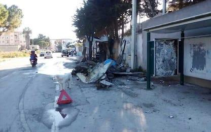 Marsala, incendio distrugge storico chiosco vendita panini e panelle