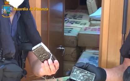 Canale di Sicilia, sequestrate sei tonnellate di hashish su veliero