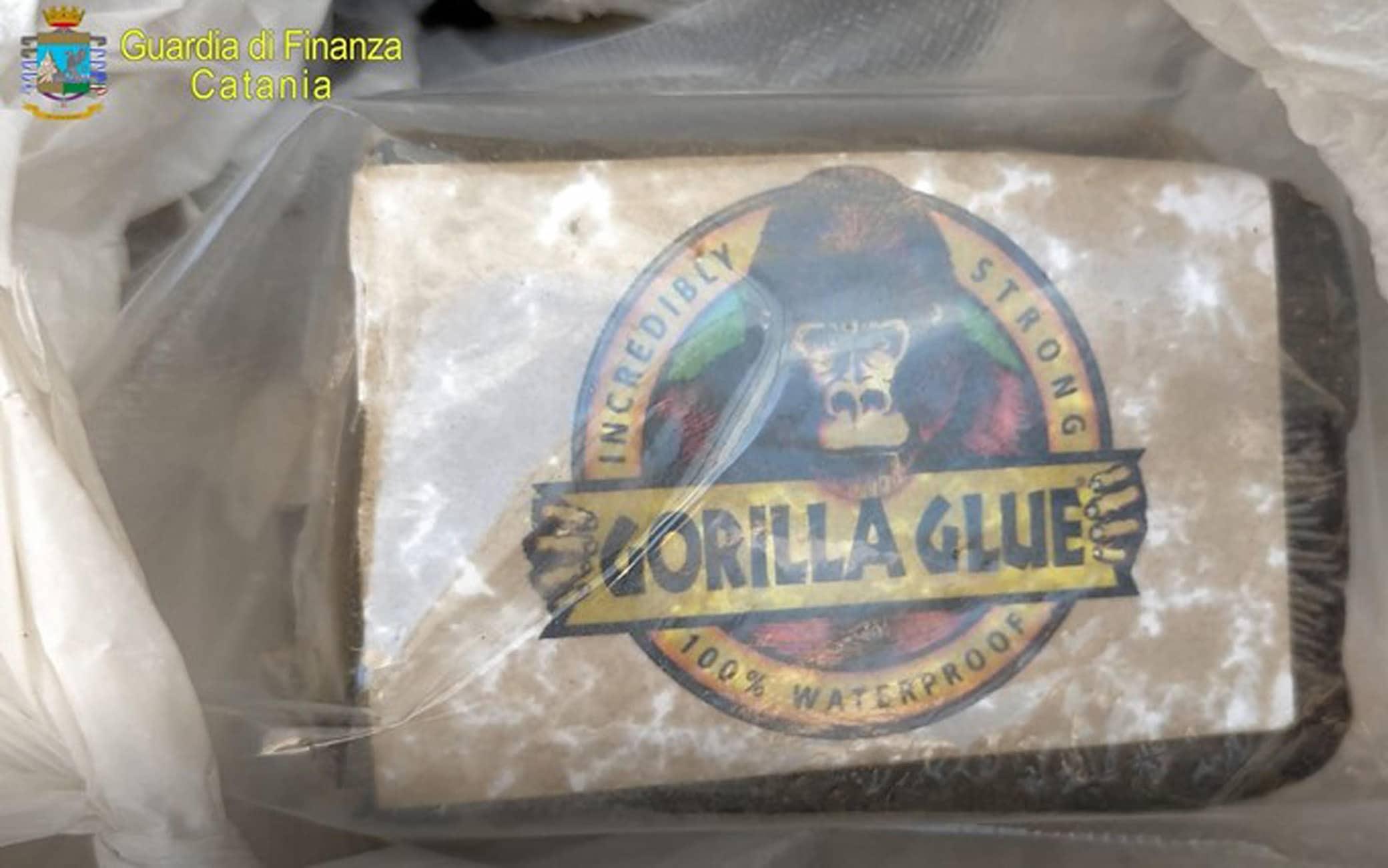 Settantuno chili tra marijuana, hashish e cocaina sono stati scoperti dalla Guardia di finanza durante un blitz nel cimitero di Giarre (Catania), 02 agosto 2021. Due le persone, entrambe originarie di Acireale, arrestate in flagranza di reato.ANSA/ GUARDIA DI FINANZA+++ ANSA PROVIDES ACCESS TO THIS HANDOUT PHOTO TO BE USED SOLELY TO ILLUSTRATE NEWS REPORTING OR COMMENTARY ON THE FACTS OR EVENTS DEPICTED IN THIS IMAGE; NO ARCHIVING; NO LICENSING +++