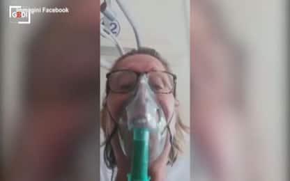 """Agrigento, no vax pentita lancia appello dall'ospedale: """"Vaccinatevi"""""""