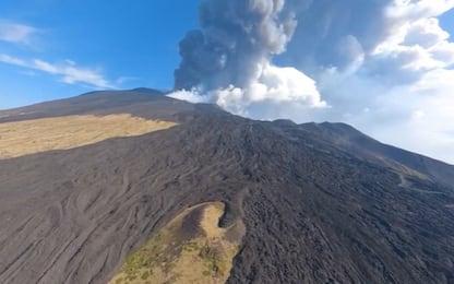 Etna in eruzione: ritrovate due bimbe disperse durante parossismo