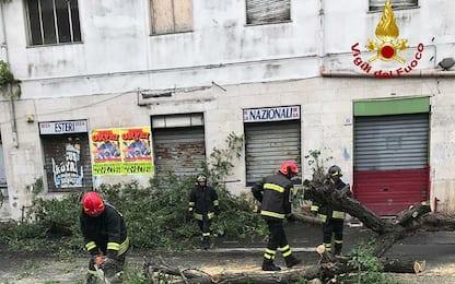 Maltempo, a Catania allerta rossa: domani scuole chiuse
