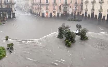 Maltempo, uomo muore annegato a Gravina di Catania. VIDEO
