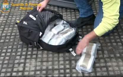 Droga a Messina, sequestrati 10 chili di hashish: arrestato corriere