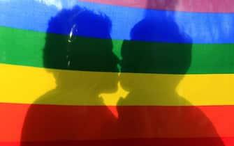 La bandiera arcobaleno: un'immagine simbolica della comunità LGBTQ+